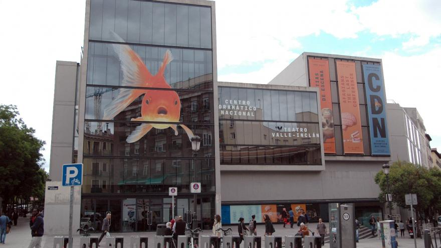 Teatro Valle Inclán. Madrid.