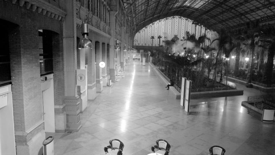 Estación de Atocha. Madrid. (Archivo Regional de la Comunidad de Madrid).