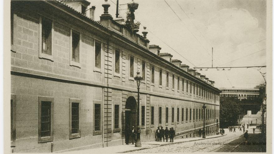 Caballerizas Reales. Madrid (Archivo Regional de la Comunidad de Madrid).