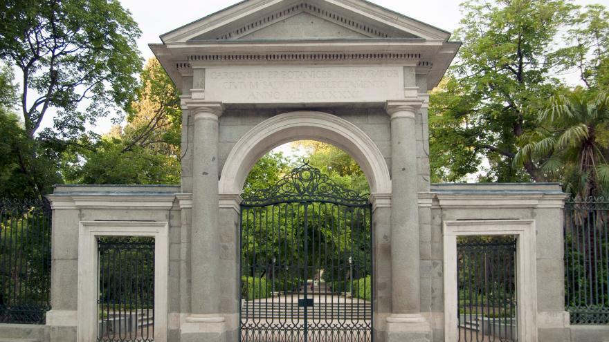 Puerta Jardín Botánico. Madrid