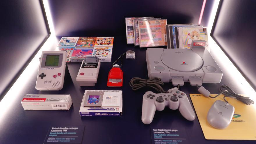 una muestra de la exposición Game On
