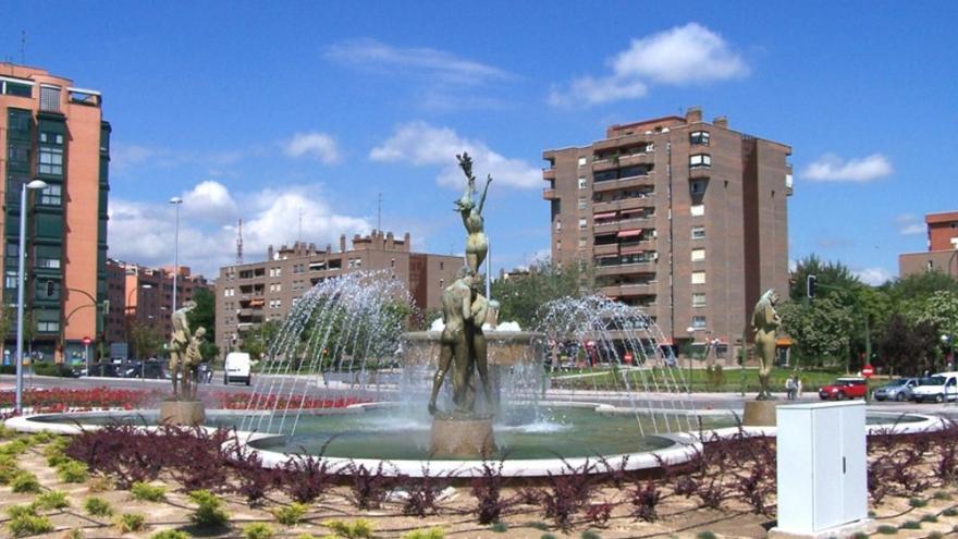 Fuente de la Plaza de Alsacia
