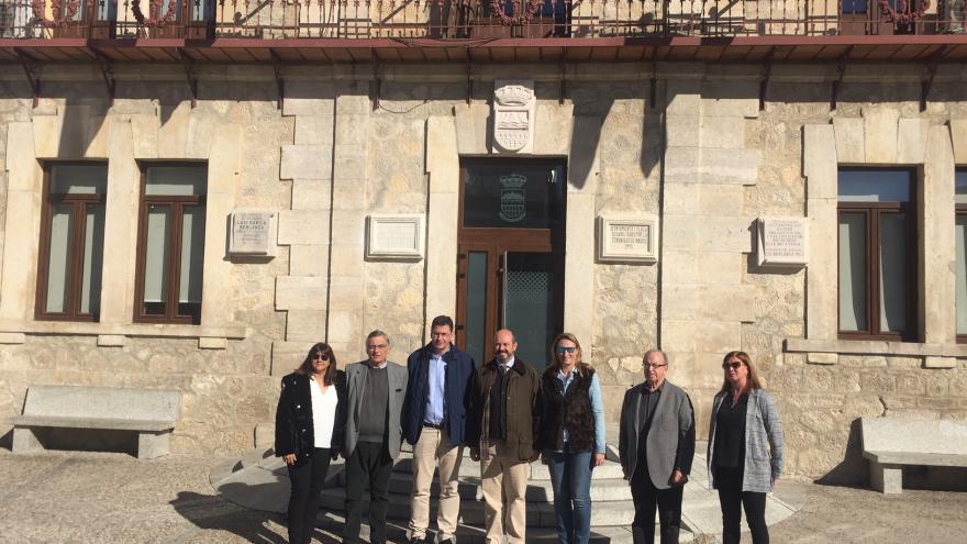 El vicepresidente del Gobierno regional, Pedro Rollán, visita el avance de varias obras del Programa de Inversión Regional en Guadalix de la Sierra y Venturada
