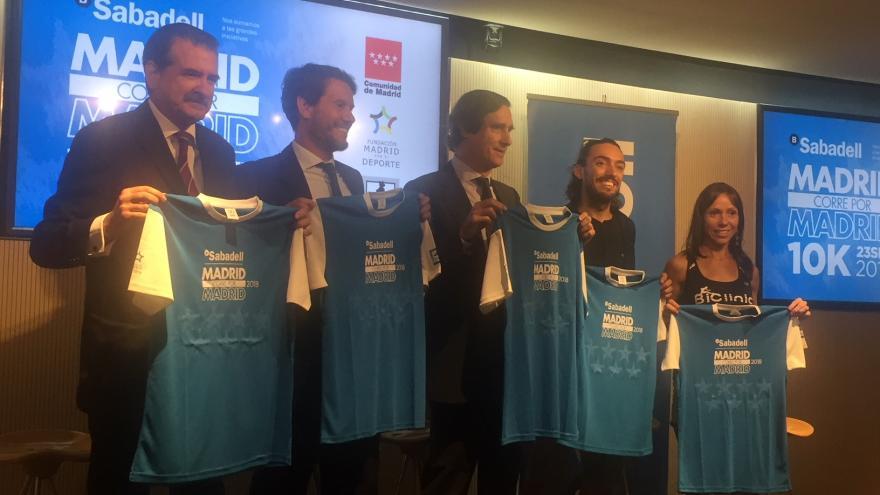La Comunidad celebra la 10ª edición de la carrera popular 'Madrid corre por Madrid'