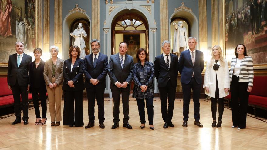 Ibarrola, en la inauguración del VII Congreso del Observatorio contra la violencia doméstica y de género