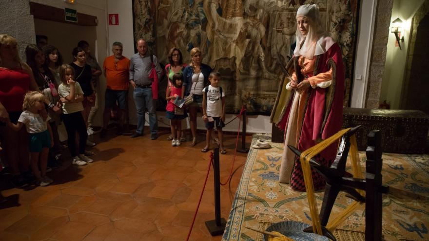 Visita teatralizada Castillo Manzanares El Real
