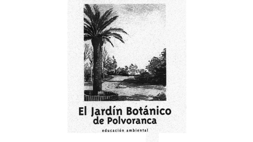 Folleto El jardín botánico de Polvoranca