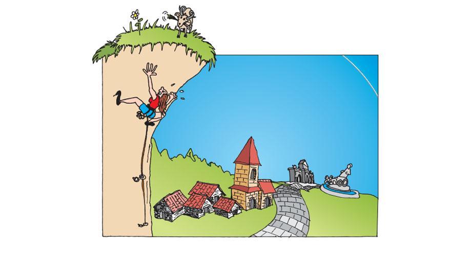Folleto El jardín de las rocas del Parque Polvoranca
