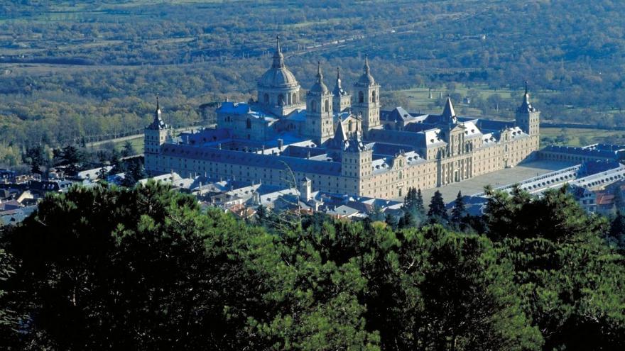 Vista del Monasterio de El Escorial desde el Monte Abantos