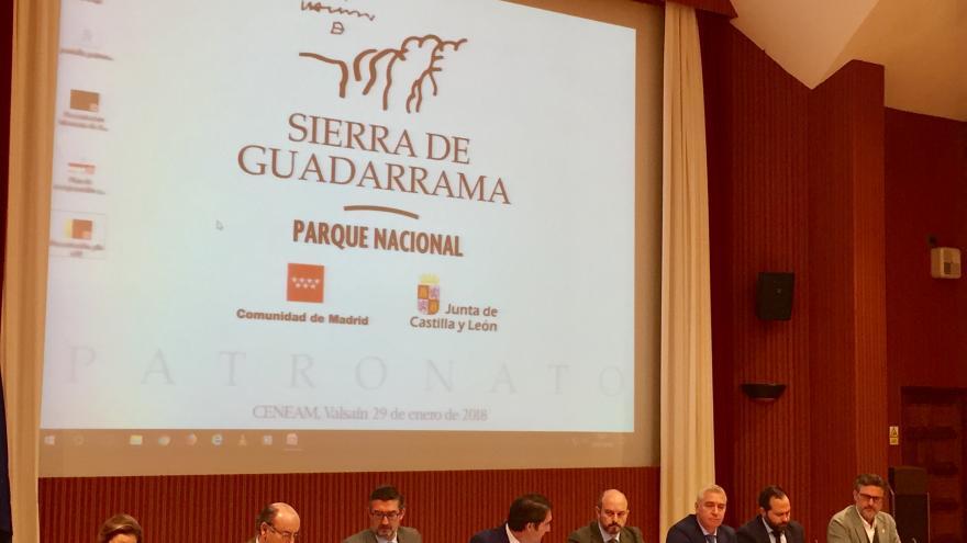 Rollán asiste a la quinta sesión del Patronato del Parque Nacional de la Sierra de Guadarrama
