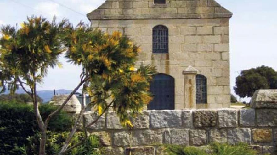 Vista de la ermita