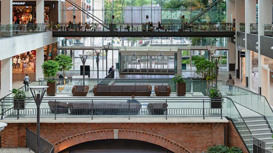 Centro comercial - Escaleras