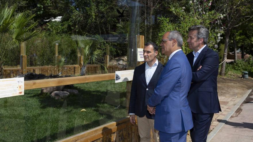 Rafael van Grieken, ha visitado el curso de formación 'Learning in Natural Environments' en Faunia