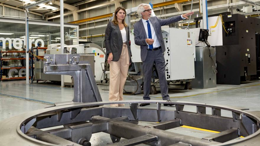 La directora general de Economía, Estadística y Competitividad ha visitado la firma tecnológica Ramem