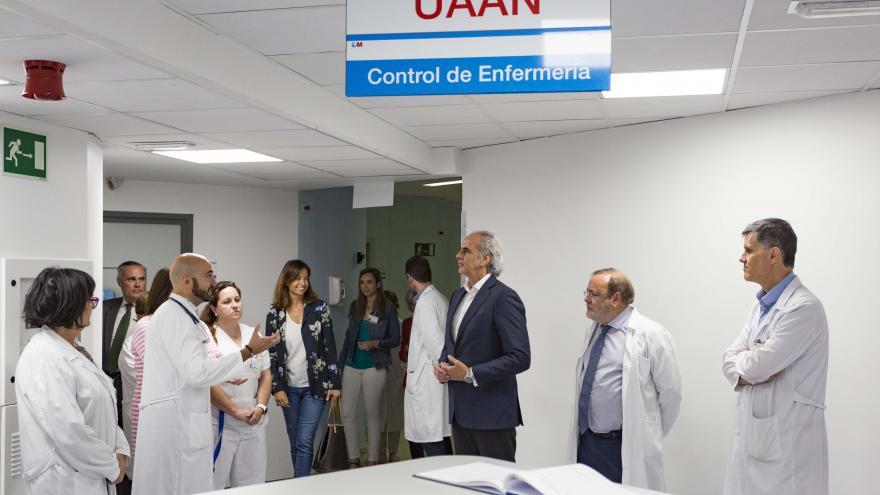 La Unidad de Aislamiento de Alto Nivel del Hospital La Paz-Carlos III se mantiene preparada en caso de una posible activación