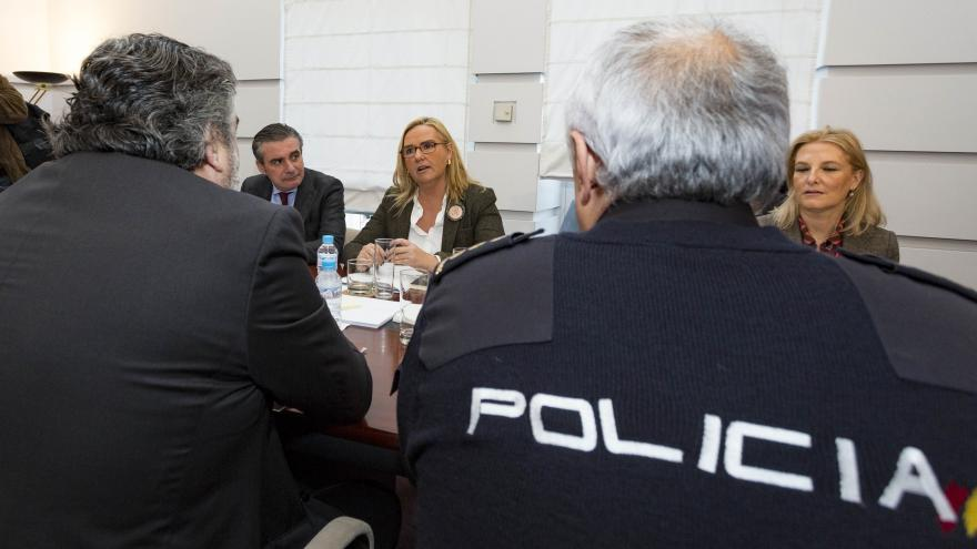 La Comunidad de Madrid y la Delegación del Gobierno colaborarán para atajar las actuaciones de los grafiteros