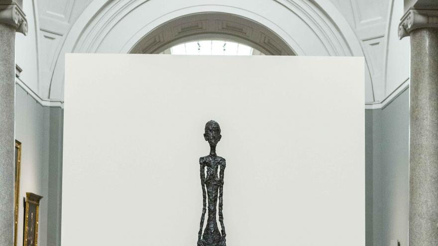 Exposición sobre Alberto Giacometti en el Museo del Prado