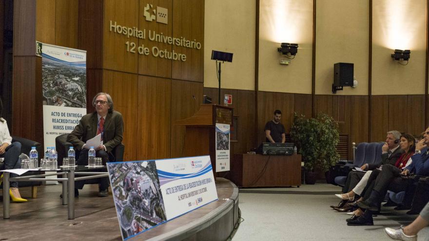 El Hospital 12 de Octubre recibe la Reacreditación HIMSS 6