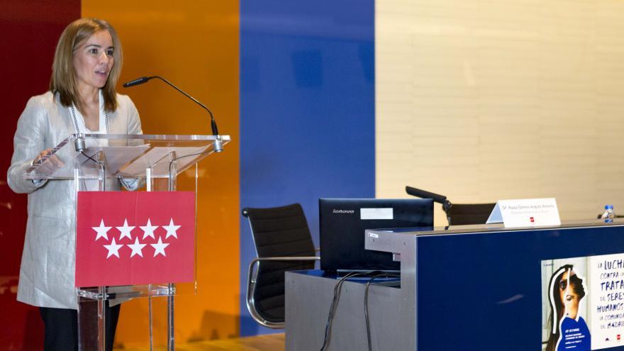 Miriam Rabaneda durante su intervención