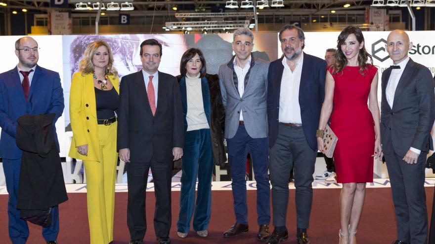 Javier Ruiz en el Salón Internacional de la Moda
