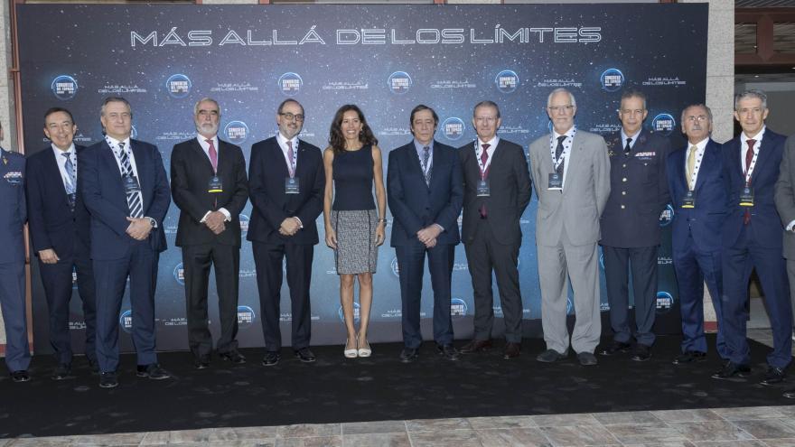 Eugenia Carballedo inaugura la primera edición del Congreso del Espacio de España