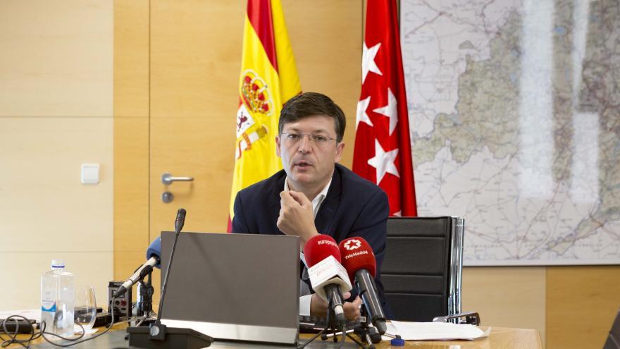 José Antonio Martínez Páramo, comisionado del Gobierno Regional para la Cañada Real