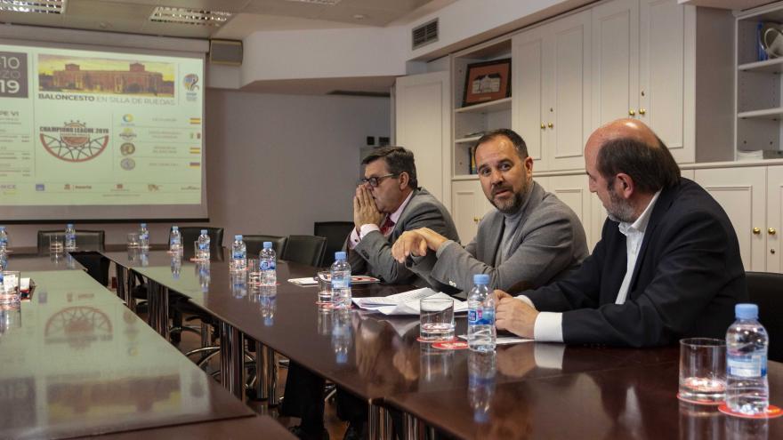 La Comunidad colabora con la Champions League de Baloncesto en silla de ruedas 2019