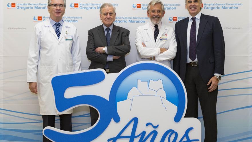 El Hospital Gregorio Marañón celebra su 50º Aniversario consolidado como un centro de referencia asistencial, investigación y docencia