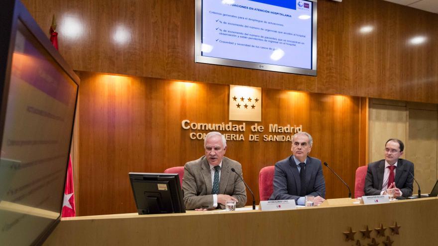 Ruiz Escudero durante su intervención