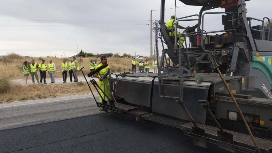 Actuaciones de mejora en la carretera M-104