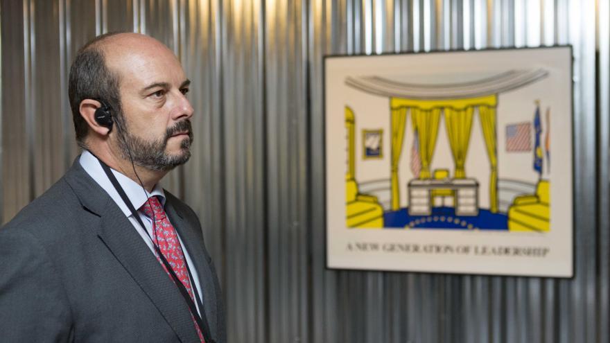 El vicepresidente de la Comunidad de Madrid, consejero de Presidencia y portavoz del Ejecutivo regional, Pedro Rollán, ha participado en el acto de presentación de la muestra.