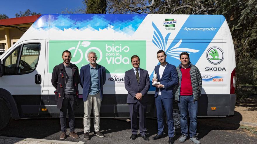La Comunidad recibe la donación de 15 bicicletas para los menores extranjeros no acompañados