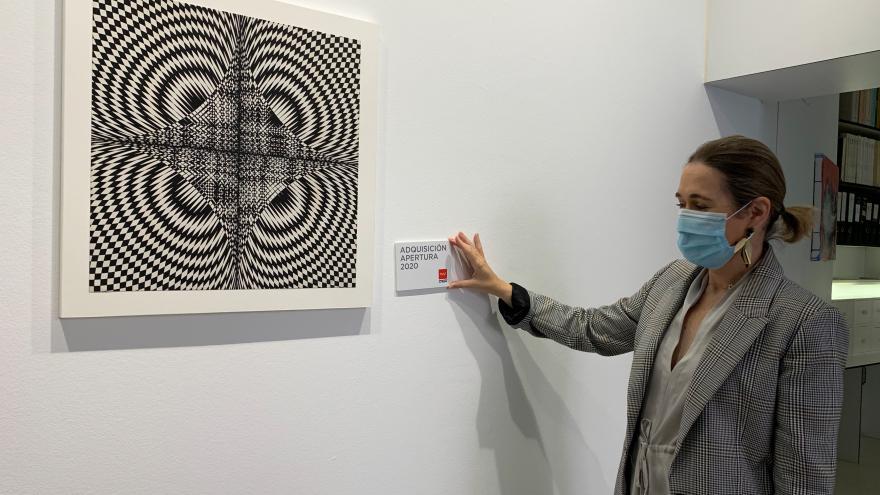 Destinaremos 1,3 millones de euros a la adquisición de obras de arte contemporáneo en 2020