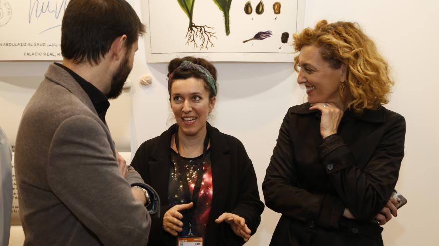 La Comunidad premia a la artista Tania Blanco en la feria Estampa 2018