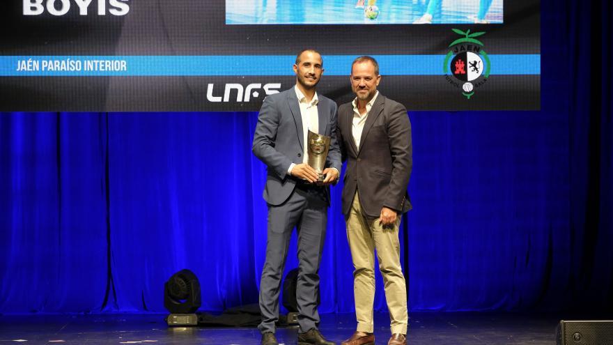El director general de Juventud y Deporte, Javier Orcaray, en la presentación de la nueva temporada 2018/19