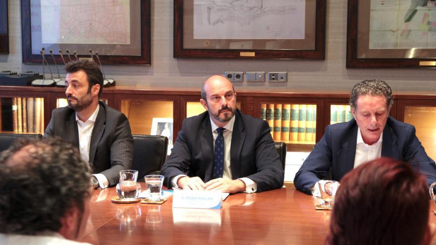 Pedro Rollán y el Comité de Empresa se han reunido esta mañana para abordar la nueva convocatoria