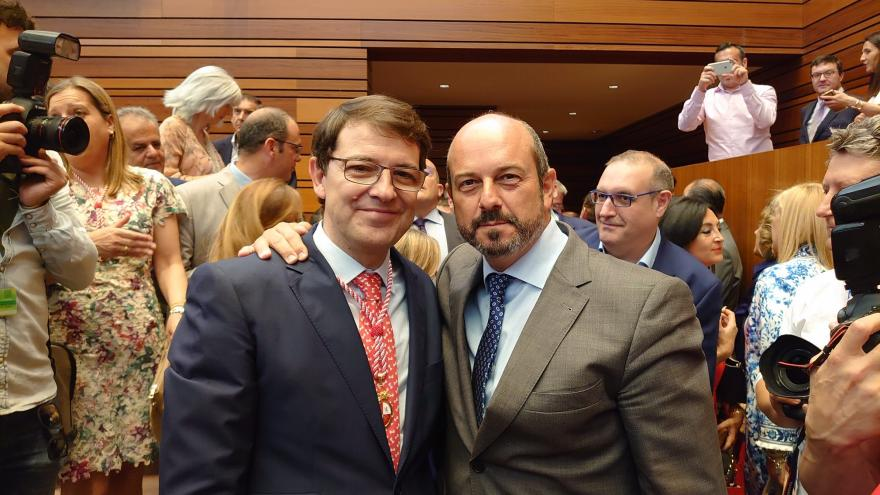 Pedro Rollan y Fernández Mañueco