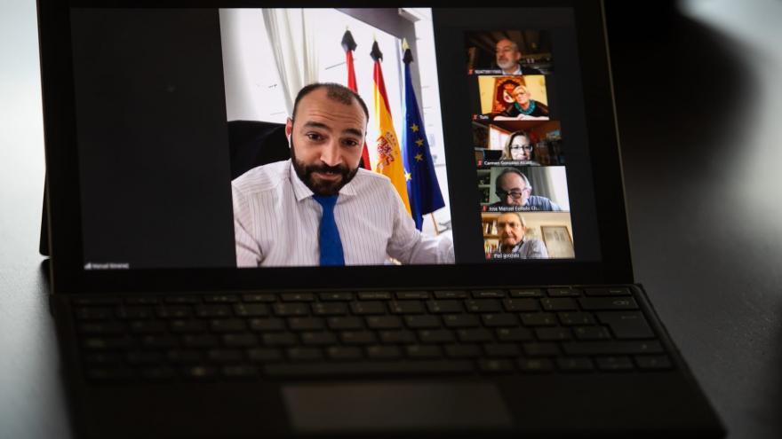 Videoconferencia Manuel Giménez