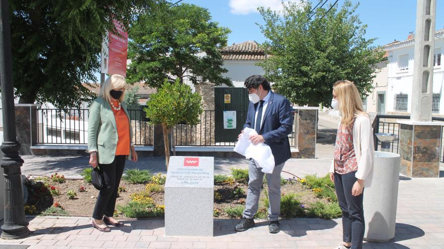 David Pérez visita Villamanrique de Tajo