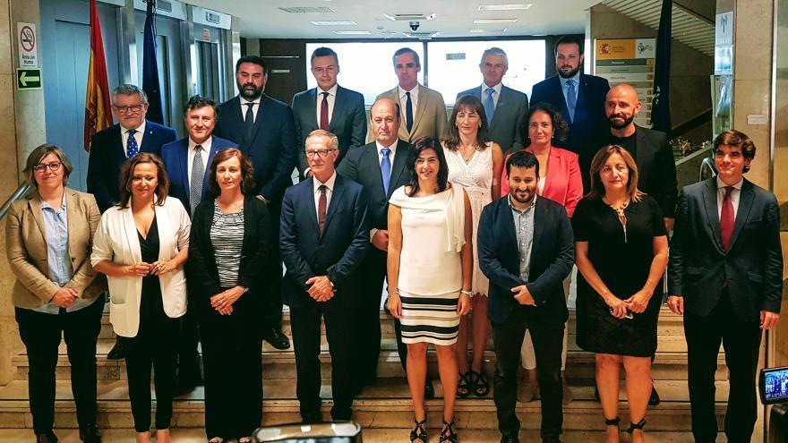 De los Santos participa en la Conferencia Sectorial de Deporte