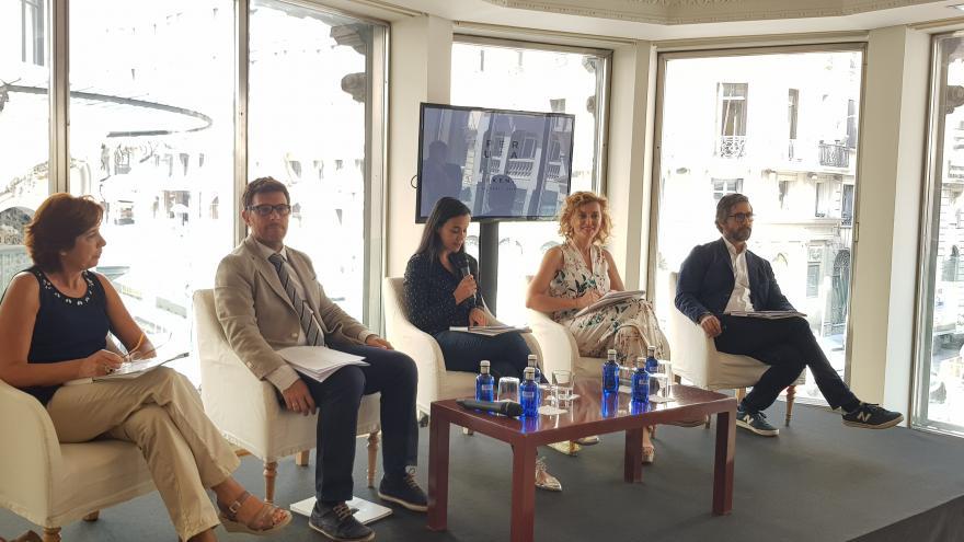 La directora general de Promoción Cultural ha participado hoy en la presentación del evento