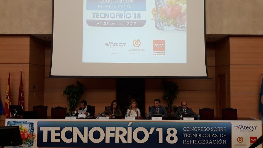 La consejera de Economía, Empleo y Hacienda, Engracia Hidalgo, inaugura la III Edición de Tecnofrío