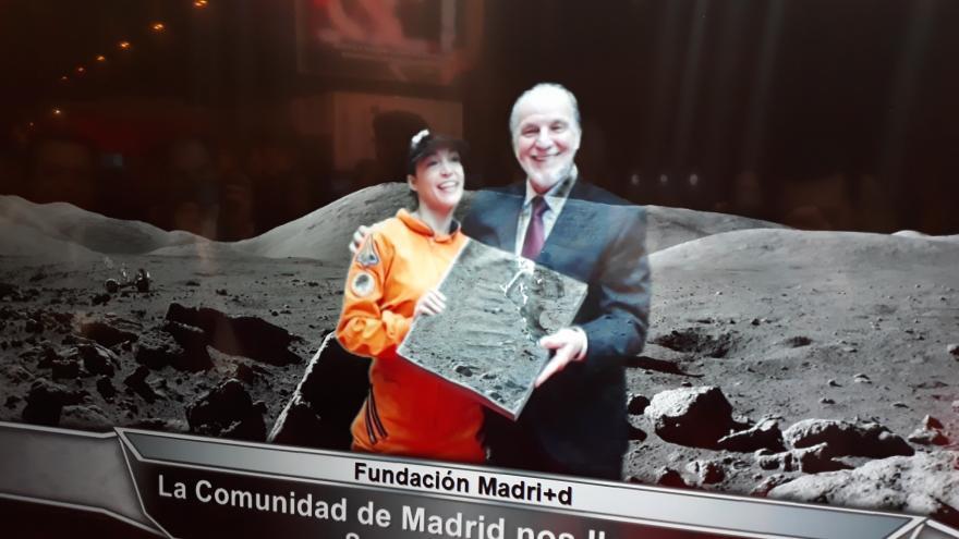 Amador Sánchez en la Feria 'Madrid por la Ciencia y la Innovación'