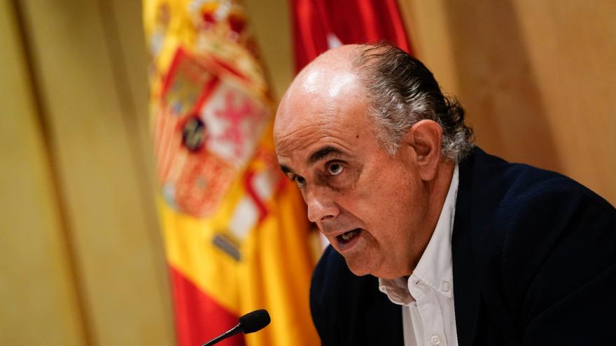 Zapatero en la rueda de prensa de Sanidad