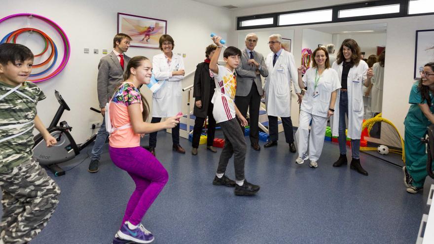 La Comunidad abre una Unidad de Rehabilitación Cardiaca Infantil en el Hospital 12 de Octubre para cardiopatías congénitas complejas