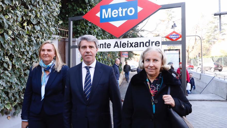 La Comunidad cambia el nombre de la estación de Metropolitano por Vicente Aleixandre y el de Atocha por Estación del Arte