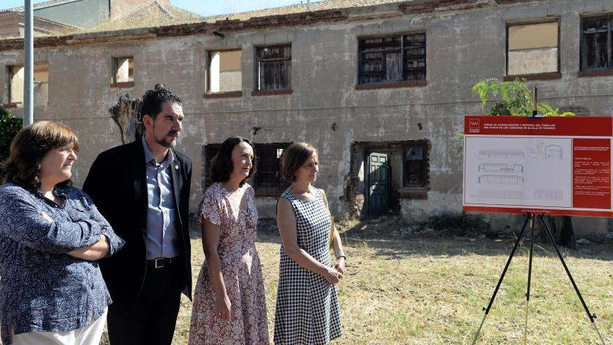 La consejera de Justicia de la Comunidad de Madrid, Yolanda Ibarrola, ha presentado hoy el proyecto, que permitirá rehabilitar un pabellón antiguo