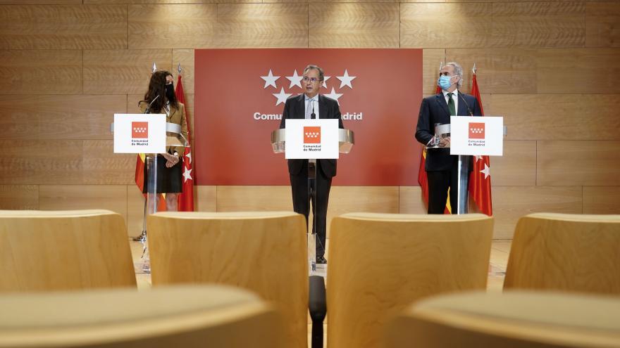 Rueda de prensa de Carballedo, Ossorio y Ruiz Escudero