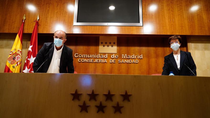 La Comunidad de Madrid extiende la vacunación frente al COVID-19 con dosis de Pfizer y Janssen a población general de 68 a 69 años.