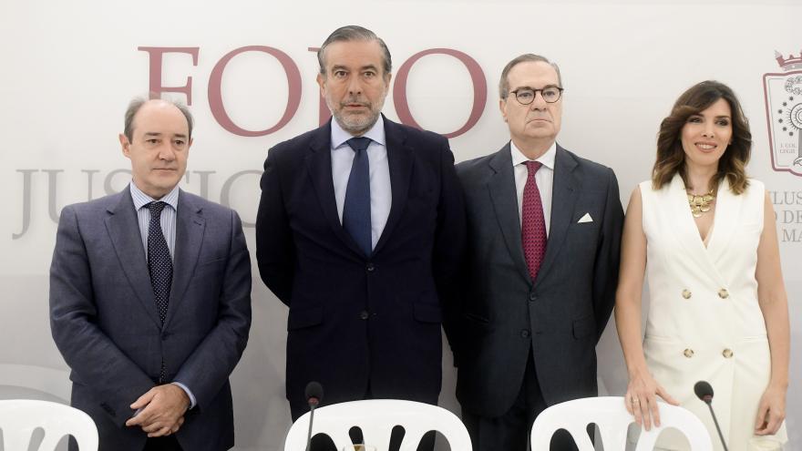 Enrique López participa en el el Foro Justicia ICAM